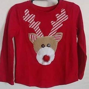 Size 3t Custom Rudolph shirt unisex